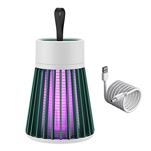 zrshygs Mosquito Killer Led-UV Trampa para Moscas de Insectos Recargable para Barbacoa para Acampar al Aire Libre