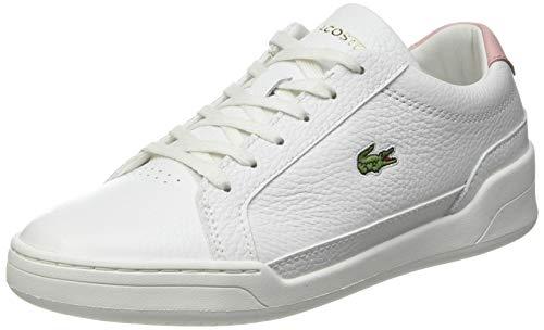 Lacoste Damen Challenge 0120 1 SFA Sneaker, Wht/Lt Pnk, 37 EU