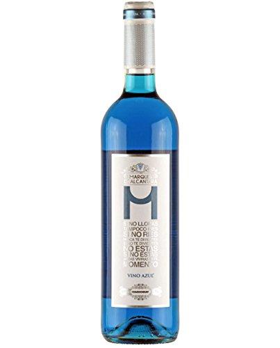 Vino BLUE Marques de Alcantara ( 6 unidades )
