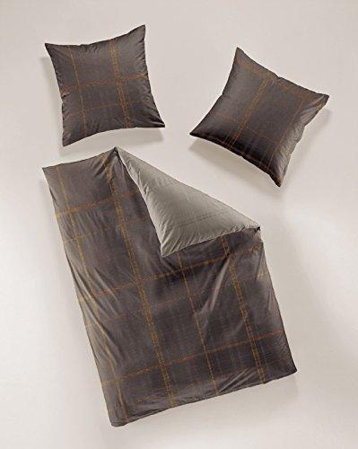 Smail Mako-Satin Bettwäsche 80x80+135x200 cm (2tlg.)