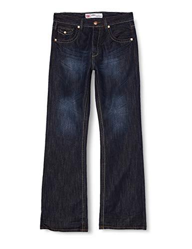Raw Indigo Ltd Herren A31 Bootcut Jeans, Blau (Darkwash Darkwash), W42/L30