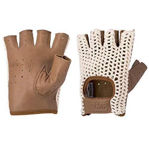 Omp OMPIB/747/M/L Tazio Handschuhe Vintage Creme/ Braun Leder Größe: L
