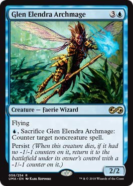 Magic: The Gathering - Glen Elendra Archmage - Ultimate Masters - Rare