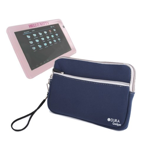 DURAGADGET Funda Azul De Neopreno para Tablet INGO Hello Kitty
