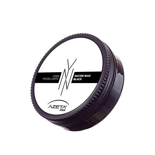 Young Now - CERA NERA ALL'ACQUA modellante per capelli - AZETA man - 100 ml (Cera Water Wax BLACK)