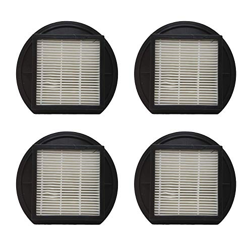 Zvac Replacement Dirt Devil F27 Hepa Filter Compatible with Dirt Devil Part # F-27, 1-Ly2108-000 Fits Dirt Devil Upright Vacuums - 4 Pack in A Bag Dirt Devil Hepa Filter Cartridge