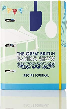 Conquest Journals The Great British Baking Show Recipe Journal 7 25 x9 Hard Cover Turned Edge product image