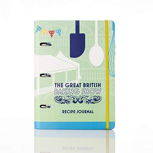 Conquest Journals The Great British Baking Show Recipe Journal, 7.25