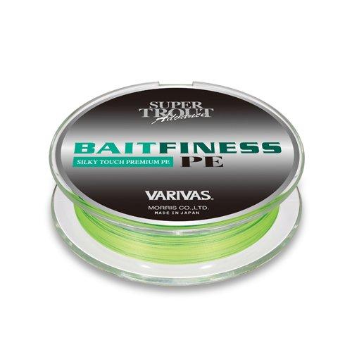 VARIVAS(バリバス) PEライン スーパートラウトアドバンス ベイトフィネス 120m 0.5号 8.0lb フラッシュイエローベースにイエローのマーキング