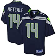 Material: 100% Polyester Engineered and constructed to replicate the game day Pro-Cut jersey Decorated in the team colors Printed team wordmarks (where applicable), logos and sleeve details The NFL logo appears on this jersey