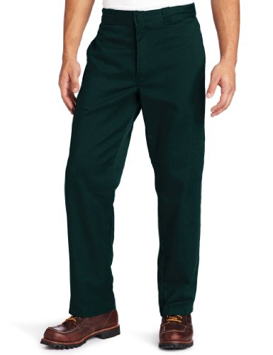 Dickies Men's Original 874 Work Pant, Hunter Green, 32W x 32L