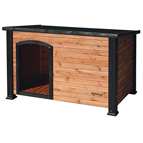 Petmate Precision Extreme Outback Log Cabin Dog House, Medium