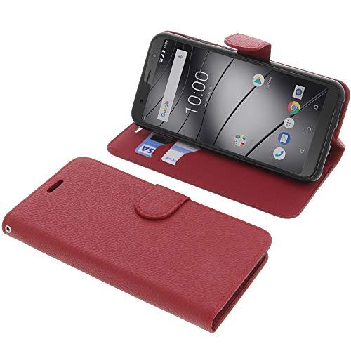 foto-kontor Tasche für Gigaset GS185 Book Style rot Schutz Hülle Buch