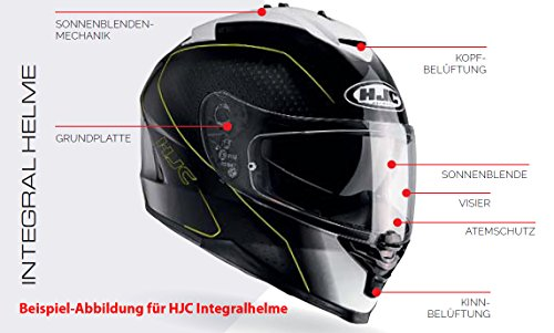 HJC Helm IS-17 schwarz-matt Gr. M (57/58)