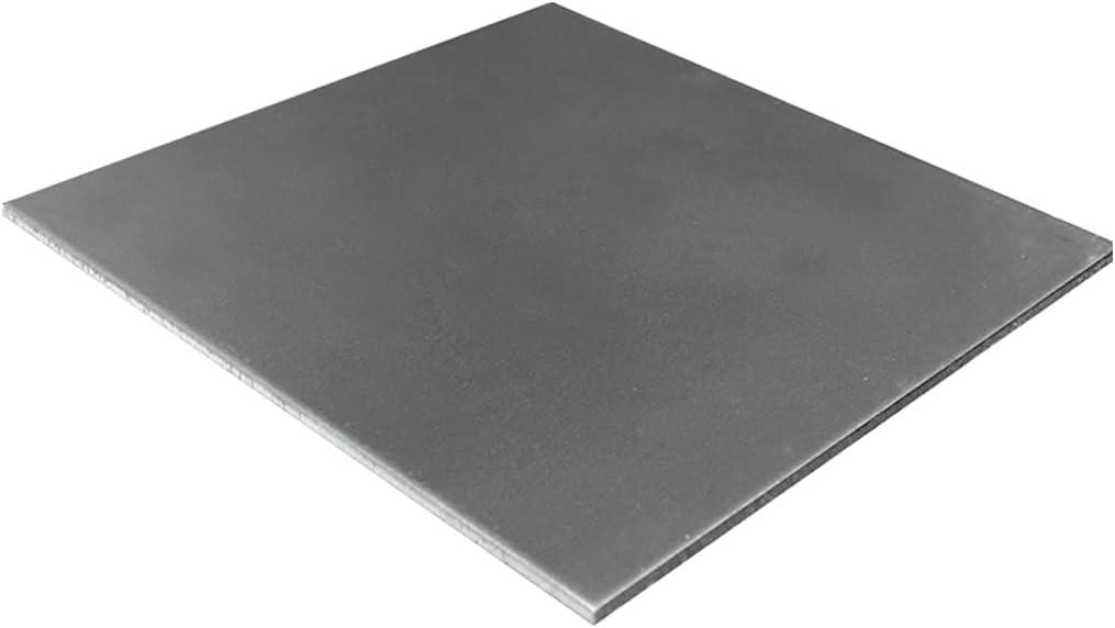 MHUI Plancha De Hierro Laminado En Caliente para Reparación De Automóviles 200 X 200 X 1 mm (5 Piezas),200 x 200 x 2mm(5pcs)