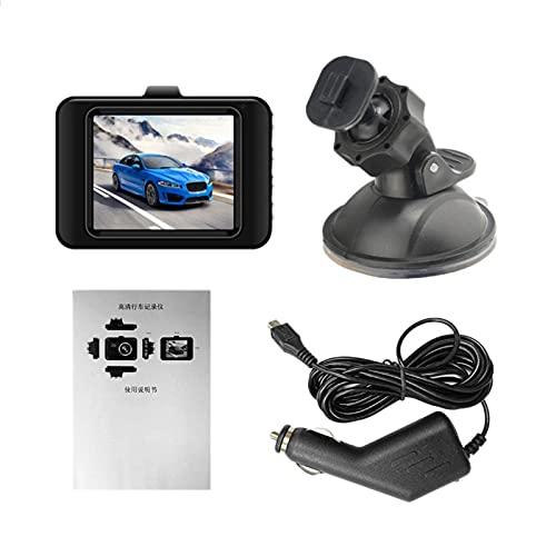 Camisin DVR CáMara de Coche VideocáMara 1080P Full HD Video Registrator Grabadora de Estacionamiento GrabacióN en Bucle 2.2 Pulgadas Noche Dash CAM