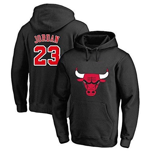 LNSOO Hombres Mujeres Sudadera con Capucha de Baloncesto NBA Chicago Bulls 23# Jordan Jersey Sudadera con Capucha Camiseta Suelta de Baloncesto Camiseta