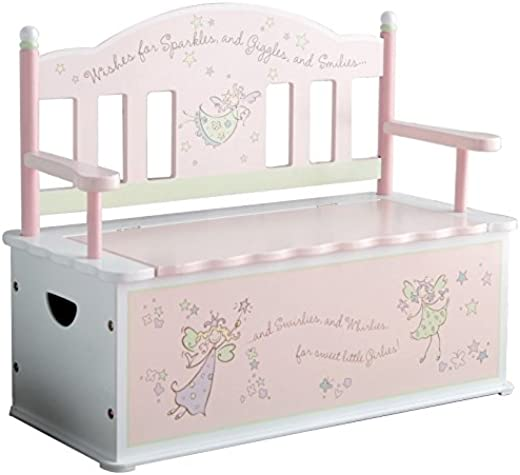Kids' Furniture ✅Wildkin Bench Seat with Storage, Fairy Wishes