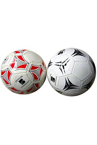 BG - JO1178 - Ballon foot simili assortis 22cm a gonfler