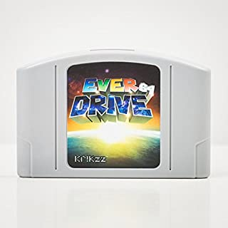 EverDrive-64 v3 Ultimate version of the Flash Cart for your Nintendo 64 system. All Region.