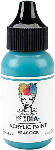 Ranger Peacock Heavy Body Acrylic Paint, Synthetic Material, Turquoise, 3.2...