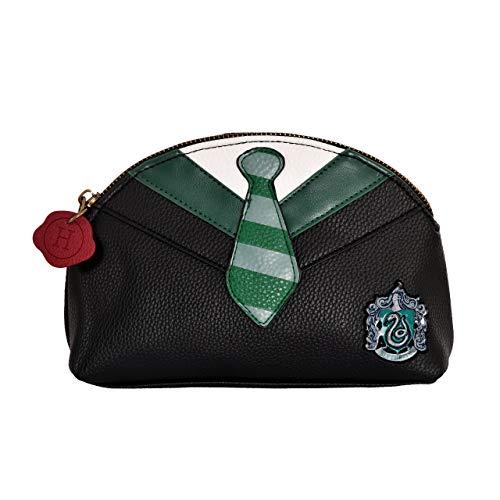 Elbenwald Harry Harry Potter Sac de cosmétique SerpyTherin Costume et Cravate 21x13,5x7,5cm Noir