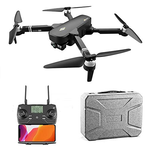 WangW Drone with Camera Live VideoAltitude Hold, One Key Take Off/Landing Follow Me for Auto Return Home Easy28mins Flight time