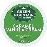 Green Mountain Coffee Roasters Caramel Vanilla Cream, Single Serve Coffee K-Cup Pod, Flavored Coffee, 144 Count