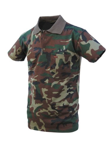 Benisport – Polo Manches Courtes, Camouflage