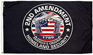 FlagSource 2nd Amendment Nylon Decorative Flag, 3x5'