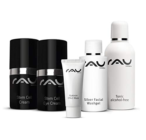 RAU Cosmetics Starter-Set für reife Haut - Anti Aging Straffung Waschgel Gesichtswasser Stamzellen