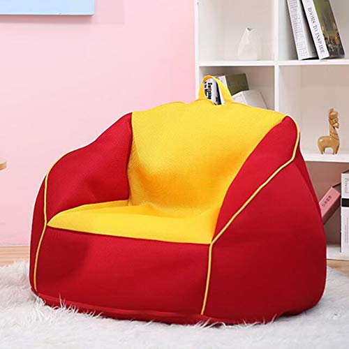 TKFY High Back Bean Bag Hit The Color Design Bean Bag Chair Multilayer Neri Indoor and Outdoor Garden for Adults and Child 80CM*80CM*80CM