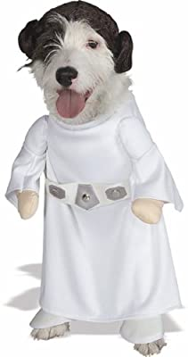 Star Wars Princess Leia Pet Costume, Medium by Rubies Costume Company