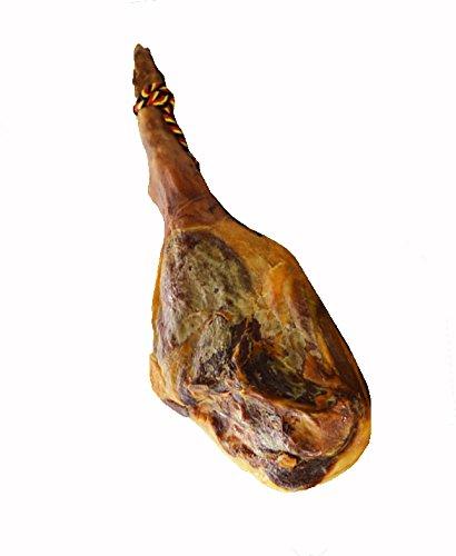 スペイン産生ハム原木:骨付き蹄付きハモンセラーノボナーリ12ケ月熟成約7Kg冷