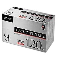 カセットテープノーマルポジション 120分 4巻