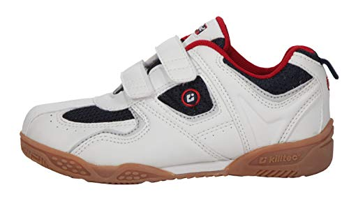 Killtec Kinder Indoor Sportschuhe White/Navy/red, Unisex:31
