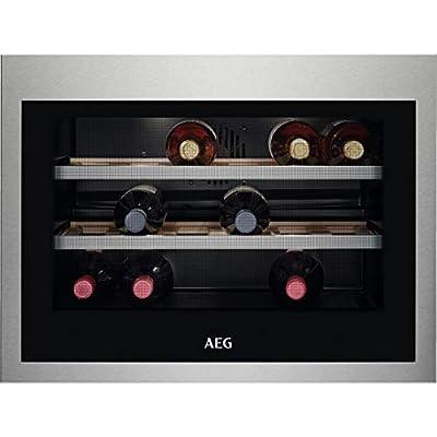 AEG KWE884520M Built-In Wine Cooler -Stainless Steel