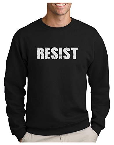 Green Turtle T-Shirts Resist Political Anti Protest - Protestation Politique Sweatshirt Homme XX-Large Noir