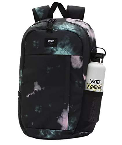 Vans Disorder Laptop School Student Backpack (Black Tie Dye)