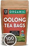 Organic Oolong Tea Bags   100 Tea Bags   Eco-Conscious Tea Bags in Kraft Bag  ...