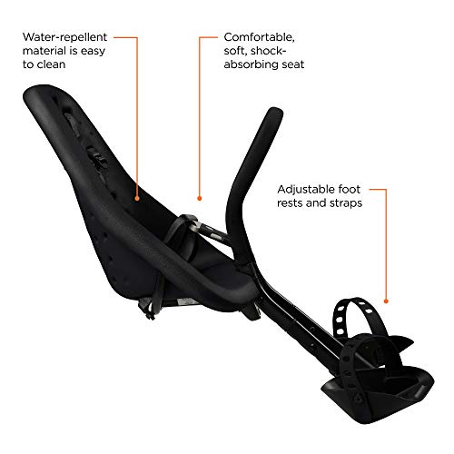Yepp-GMG Mini Bicycle Child Seat, Black