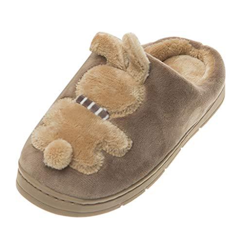 Luckycat Conejo - Zapatillas de Estar por Casa Niñas Niños Pequeños Niños...