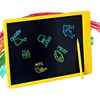 Tikooere 13.5 Inch LCD Writing Tablet (Yellow)