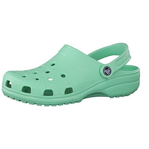 Crocs Classic Clog Zuecos Unisex Adulto Verde (New Mint 3P7) 38-39