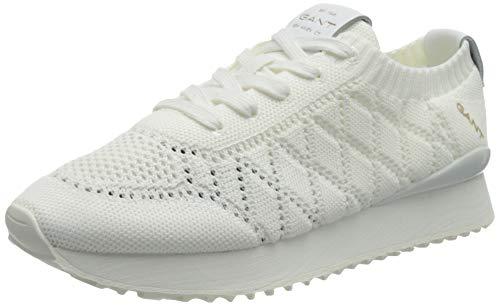 GANT Bevinda, Zapatillas Mujer, Blanco, 38 EU