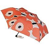 マリメッコ Marimekko 傘 レディース 折り畳み傘 アンブレラ 折りたたみ傘 雨傘 ウニッコ ピンク×オフホワイト×ブラック 48633 398 並行輸入品