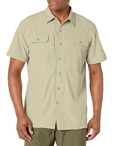 Little Donkey Andy - Camisa ligera de manga corta para hombre, de secado rápido, elástica, para senderismo, viajes, FPS 50