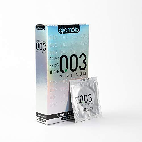 Okamoto 003 Platinum Condoms - 10 Pieces
