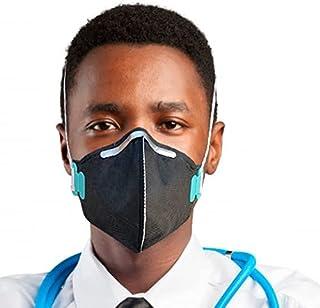 Kit 5 Mascara N95 Proteção Respiratória Pff2 Carvão Ativado