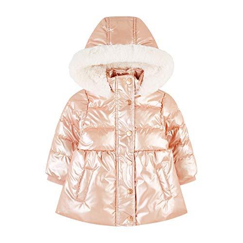 Mothercare Flow Padded Coat Plain Pink Giubbotto, Nero 130, 12-18 Months (Manufacturer Size:86) Unisex-Bimbi